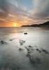 Sunset (Carlos J. Teruel) Tags: longexposure sunset españa sol atardecer mar nikon paisaje murcia nubes reflejo cartagena 2010 d300 calblanque tokina1116 xaviersam singhraynd3revgrad leebigstopper