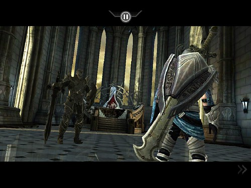 Infinity Blade screenshots (iPad)