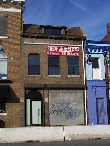 Vacant building allegedly for lease, H Street NE