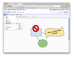 Google Drawing (export as PDF)