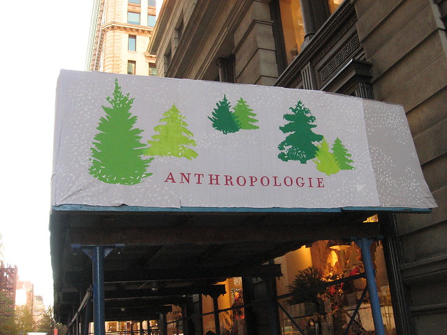 5th Ave Anthropologie Banner