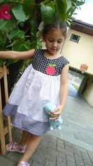 Vestidinho  Hello Aplle (Maria Sica) Tags: dress vestido childrensclothing vestidinho girldress vestidodemenina modainfanti