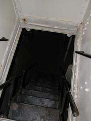 Stairs leading to a lower deck from the crew's head on the USS Olympia (FranMoff) Tags: stairs boat ship navy olympia cruiser uss c6 ca15 protectedcruiser cl15 ix40