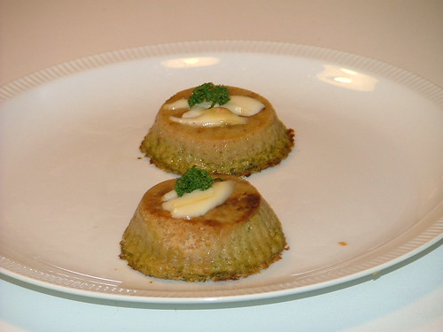 sformatini di zucchina con cuore di fontina_Loredana Vidali