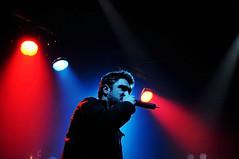 El micro y yo (mendoshp/Fernando Mendoza) Tags: luces y o retrato yo concierto jazz el sala micro musica cordoba metropolis hip hop rap javier ibarra magnetism kase kaseo mendoshp