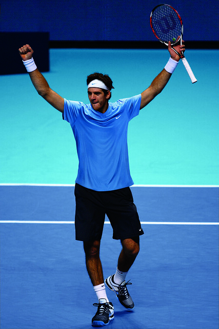 2011 Australian Open: Juan Martin Del Potro Nike outfit