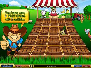 free Farmer's Market bonus game