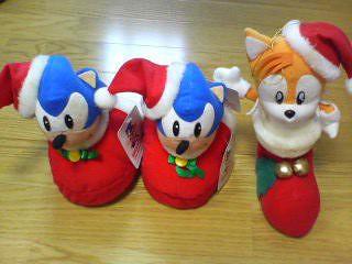 Sonic Holiday Plushes