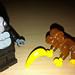 LEGO Collectible Minifigures Series 3 Gorilla Suit Guy vs  Monkey