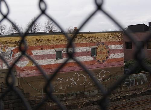 Auburndale, MA, mural #1