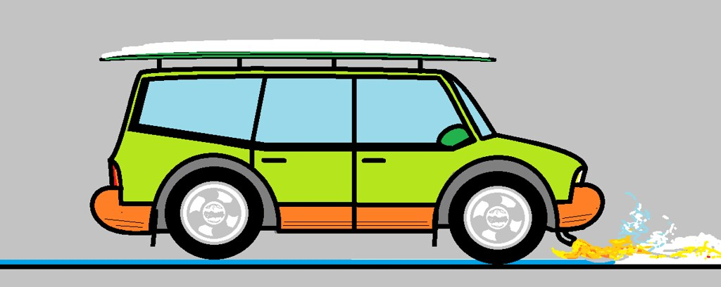 Fourtitude Com Design Your Own Car On Ms Paint