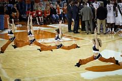 Air splits (Moogul) Tags: basketball austin ut texas longhorns flip 7d f2 cheerleader ncaa 135mm 135l pomsquad frankerwin mensbasketball utcheerleader canoneos7d texascheerleader