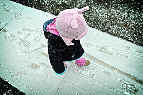 snow walk