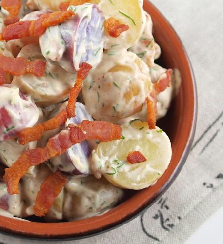 Bacon Dill Potato Salad
