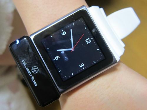 iPod nanoを腕時計化
