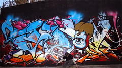 SezONE_2010_ (SRCARAMELOS) Tags: colour inca de toys graffiti big character urbanart satan hunter sez graff th 2010 pieza enviado sezone