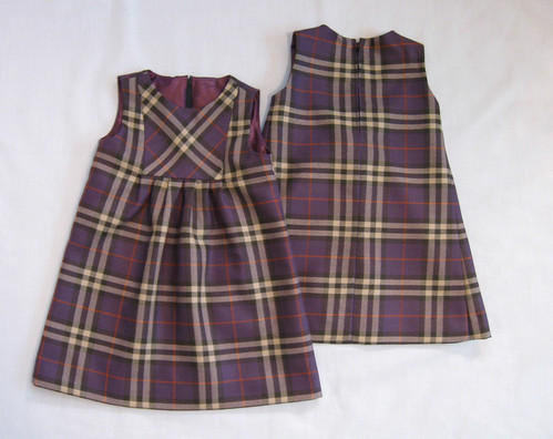 plaid front and back