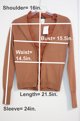 JCrew-Petite-Cardigan-Measurements