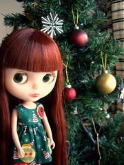 Zooey 'Happy Christmas everyone!!'