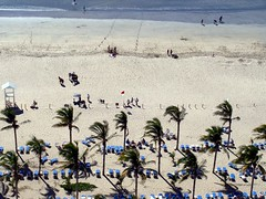 The Beach (knightbefore_99) Tags: ocean blue sea sky west tree beach mexico coast sand surf pacific chairs palm mexican mazatlan sinaloa