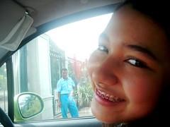 zehra14 (nadsmarlyn) Tags: girls girl beautiful smile smiling indonesia pretty braces jakarta teenager gigi brace indonesian orang senyum perempuan cantik remaja cewek kawat behel