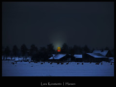 Mc Beacon (LaRa K-H) Tags: winter snow december fastfood mcdonalds m beacon purmerend larakonstantinhansen