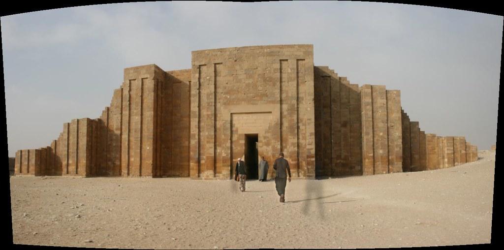 Step Pyramid entrance