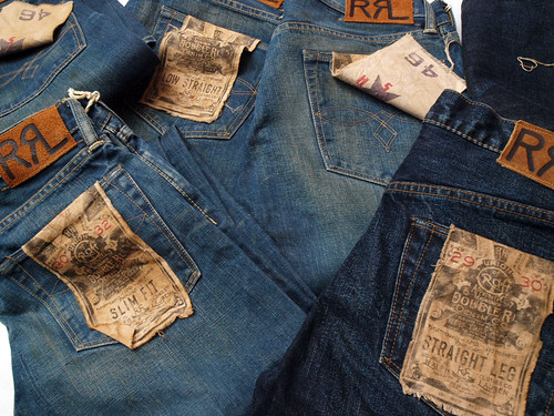 RRL Denim - Straight Leg,Low Straight,Slim Fit