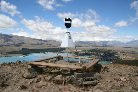 Trig on Mt John