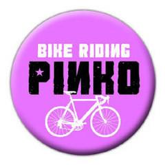 Bike Riding Pinko buttons, Toronto
