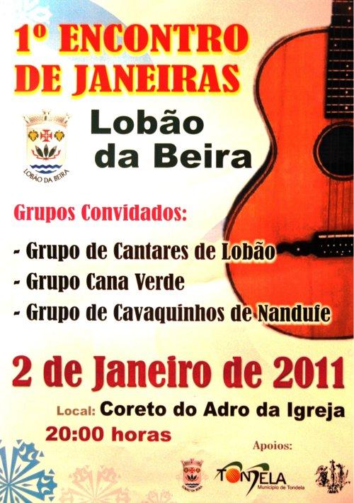 1º. ENCONTRO DE JANEIRAS EM LOBÃO DA BEIRA