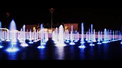 yas hotel fountain (Lloydjp) Tags: water fountain colors delete10 night canon delete9 delete5 delete2 hotel colours delete6 delete7 uae save3 delete8 delete3 delete delete4 save save2 arabic grandprix save4 abudhabi eos100d yashotel
