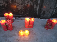 Candles in the Monastery