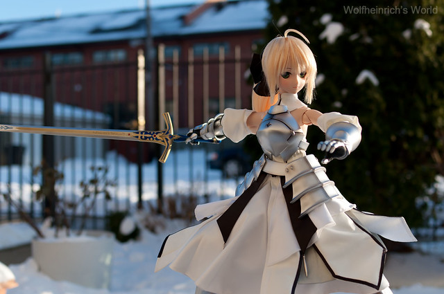 Dollfie Dream Saber Lily セイバー・リリィ Outdoor