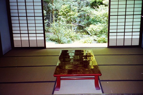 Temple in Kyoto (interior)