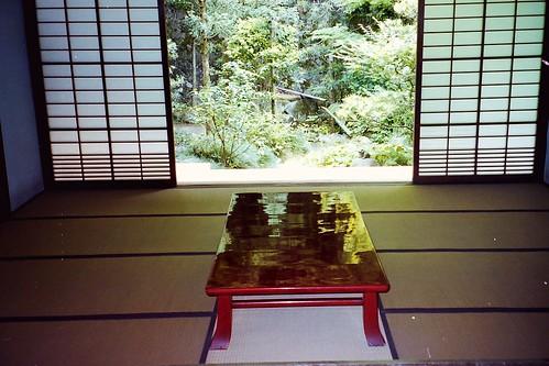 Temple in Kyoto (interior)