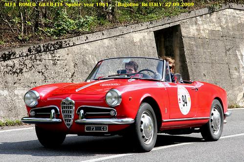1961 Alfa Romeo Giulietta Spider. ALFA ROMEO GIULIETTA