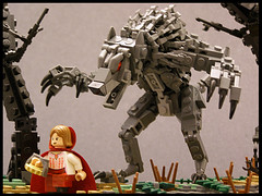 Little Red Riding Hood - 03 (Legohaulic) Tags: fairytale woods wolf lego littleredridinghood cccviii