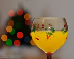 Christmas Morning Cocktail (Scottwdw) Tags: christmas morning family people orange holiday tree glass breakfast lights nikon drink bokeh juice champagne drinking flute holly cocktail alcohol brunch treat mimosa liquid 28300mm vitaminc vr wideopen d700 yourphototips