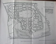 The Corporation of Glasgow Housing department - plan of the Penilee Estate, c1945 (mikeyashworth) Tags: scotland glasgow 1940s housing tenements socialhousing glasgowcitycouncil councilhousing penilee mikeashworthcollection