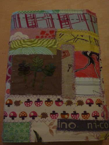 Front of Michelle's journal (unwrapped)