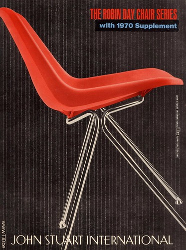 Robin Day Polyprop Chair US.Model Cover