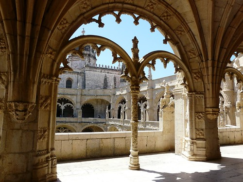 Le monastère des Hiéronymites (ou monasterio dos Jeironimos)