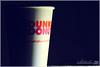 Dunkin Donuts ~ ilove it ♥ (Nayof) Tags: كوب كوفي يالبيه اضاءه دانكن