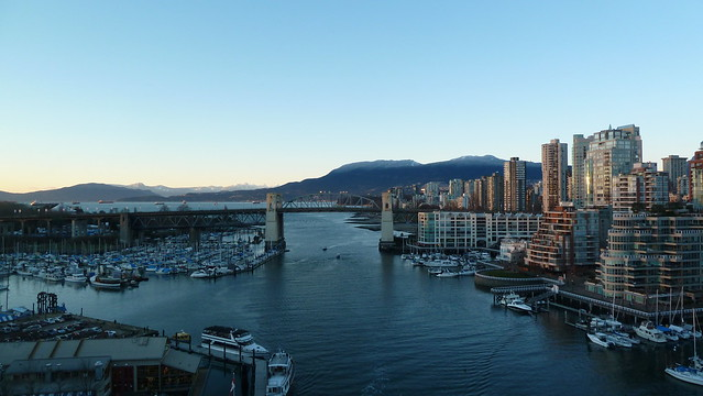 Vancouver from the Granville Bridge