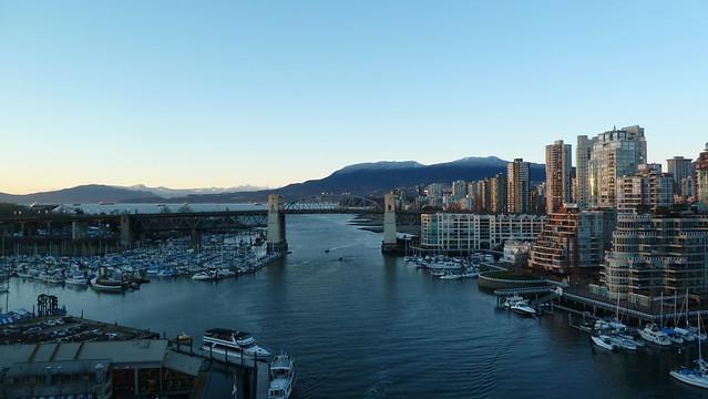 Vancouver from the Granville Bridge