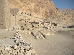 The chapel of Hathor of Seti I. (konde) Tags: ruins chapel deirelmedina ancientegypt hathor 19thdynasty setii