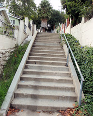 123 Granada Stairway - 125 Steps (saschmitz_earthlink_net) Tags: california stairs losangeles walks steps hike stairway 2010 mountwashinton publicstairway