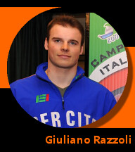 Pictures of Giuliano Razzoli