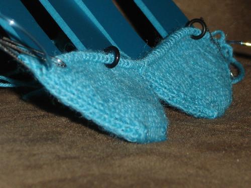 Zitron Trekking KAL Socks, Clue 1